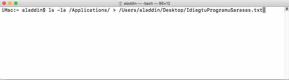 apps-list-terminal