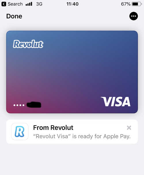 Revolut and Apple Pay
